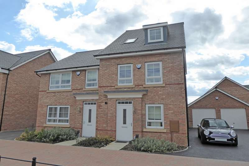 3 Bedrooms Semi Detached House for rent in Nightingale Avenue, Heathcote, Warwick