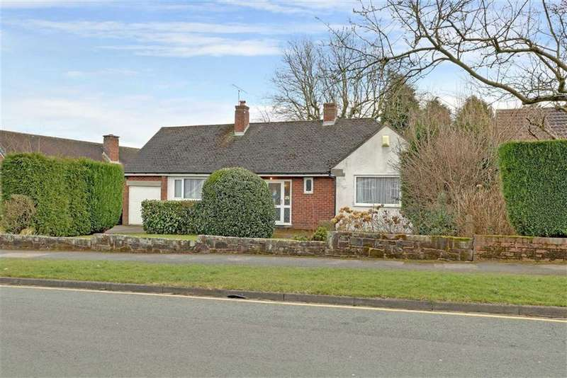 3 Bedrooms Detached Bungalow for sale in Sherborne Drive, Westlands, Newcastle-under-Lyme