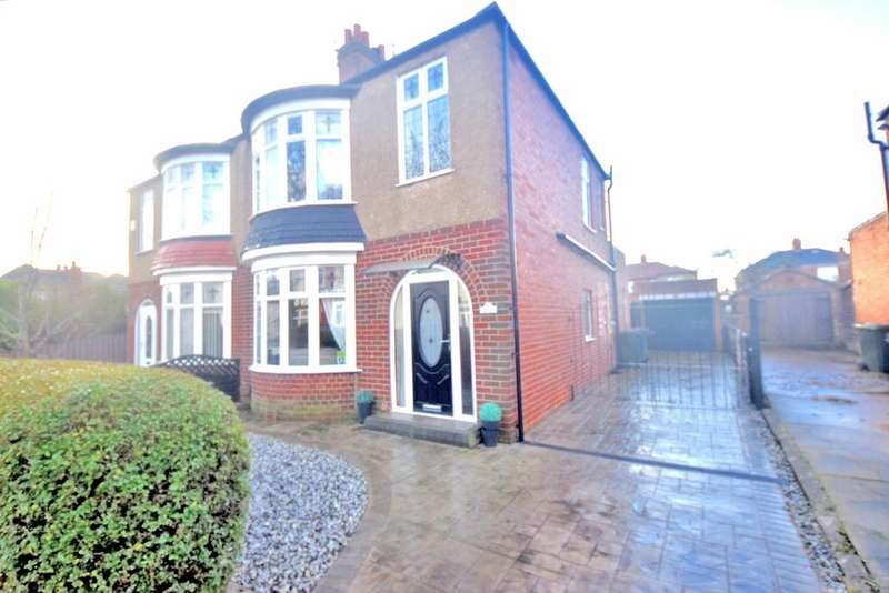 3 Bedrooms Semi Detached House for sale in Ings Road, Redar TS10