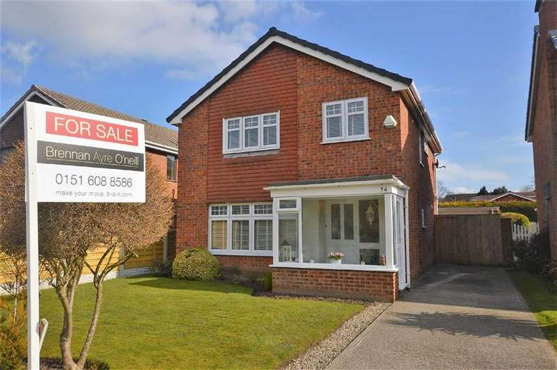 3 Bedrooms Detached House for sale in Farndon Way, Oxton, CH43