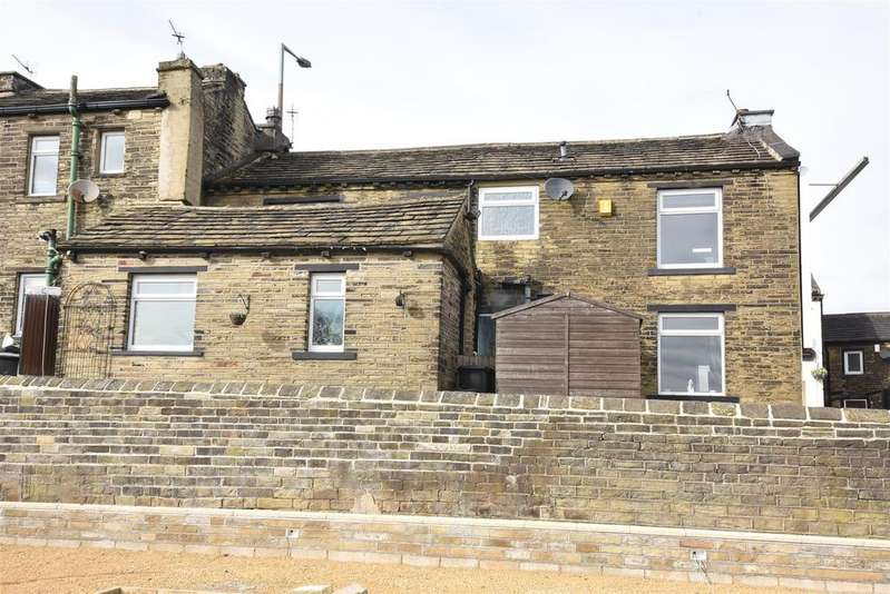 3 Bedrooms End Of Terrace House for sale in Carr House Road, Shelf, Halifax
