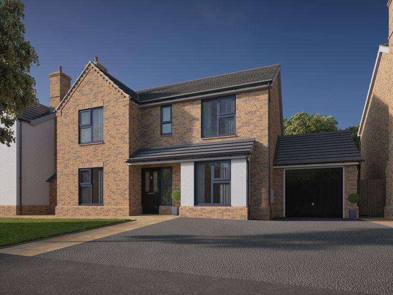 4 Bedrooms Detached House for sale in Rose View Avenue, Widnes