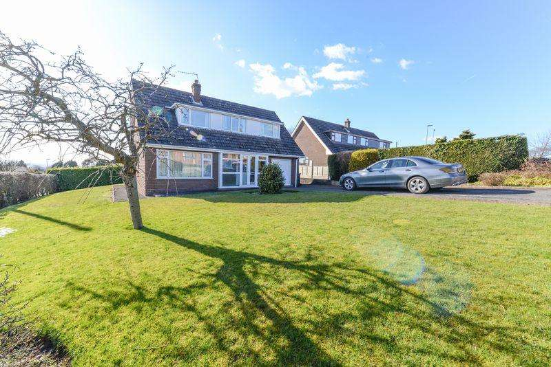 3 Bedrooms Detached House for sale in Hunters Point, Loggerheads, Market Drayton