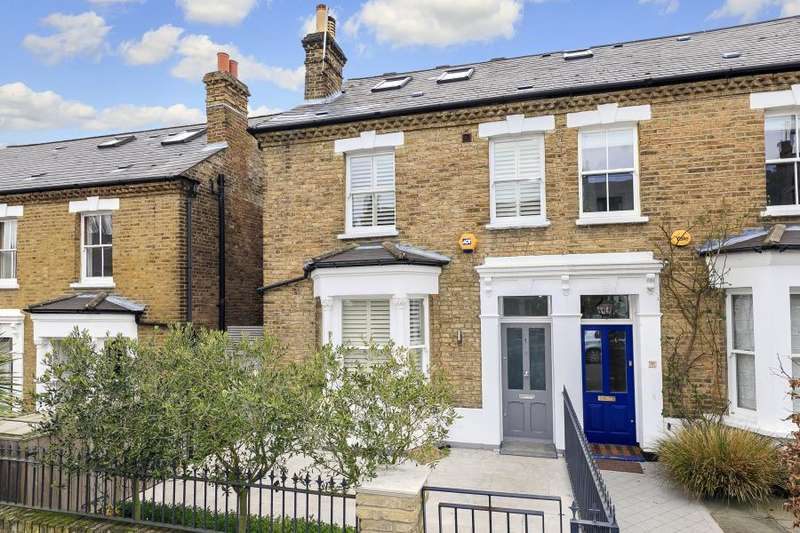 4 Bedrooms Semi Detached House for sale in Chisholm Road, Richmond