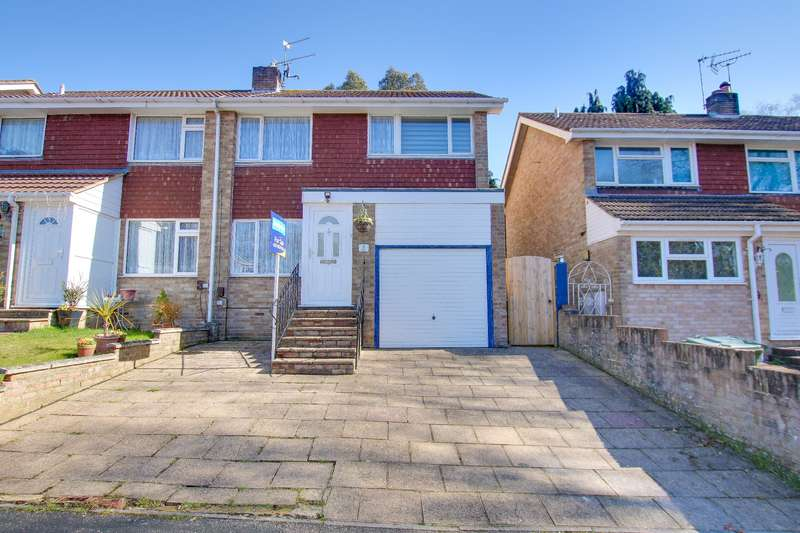 3 Bedrooms Semi Detached House for sale in Wentworth Gardens, Sholing