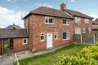 2 Bedrooms Semi Detached House for sale in Laburnum Street, Hollingwood, Chesterfield, Derbyshire