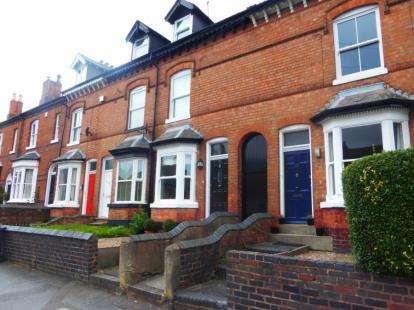 4 Bedrooms Terraced House for sale in Ravenhurst Road, Harborne, Birmingham, West Midlands