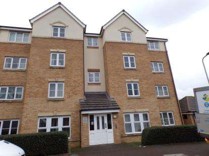 2 Bedrooms Flat for sale in Crowe Road, Bedford, Bedfordshire