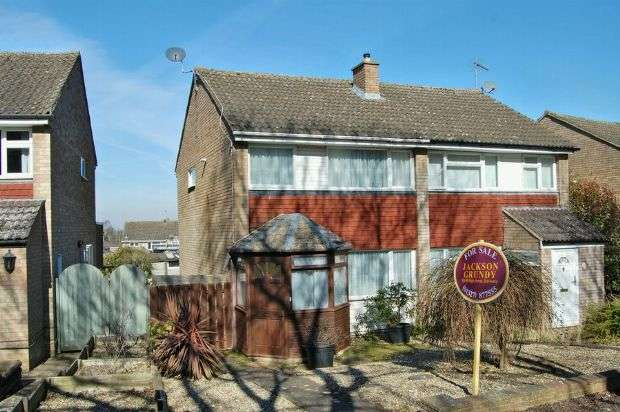 3 Bedrooms Semi Detached House for sale in Gleneagles Close, Daventry, Northampton NN11 4PF
