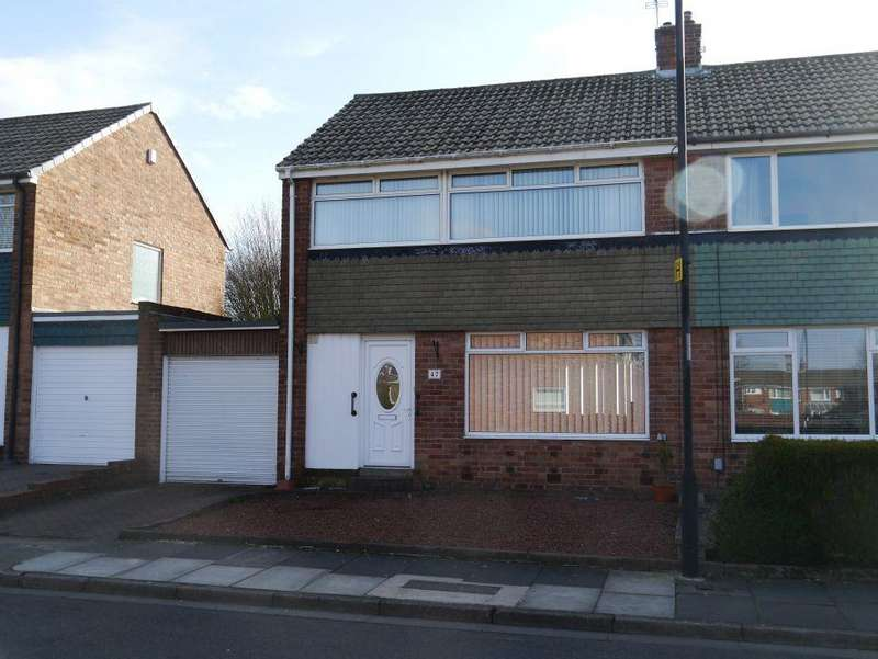 3 Bedrooms Semi Detached House for sale in Aisgill Drive, Newcastle Upon Tyne