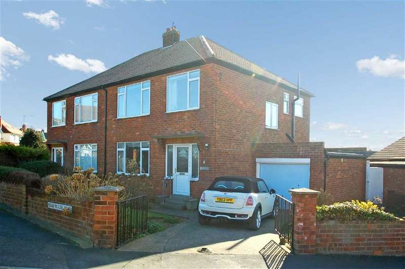 3 Bedrooms Semi Detached House for sale in Field House Road, Whitby, North Yorkshire, YO21