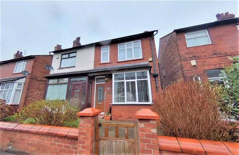 3 Bedrooms Semi Detached House for sale in Kensington Road, Cheadle Heath, Stockport