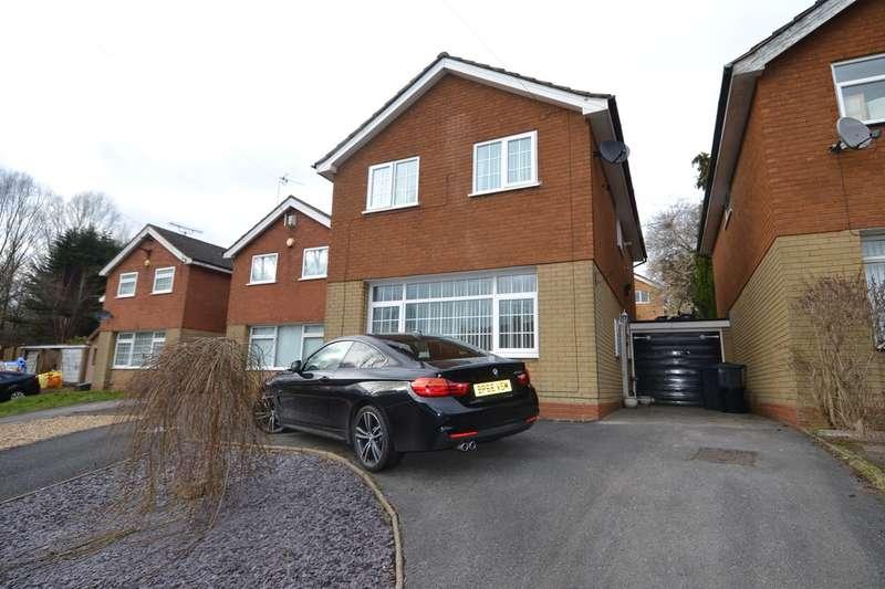 3 Bedrooms Detached House for sale in Doulton Close, Quinton, Birmingham, B32