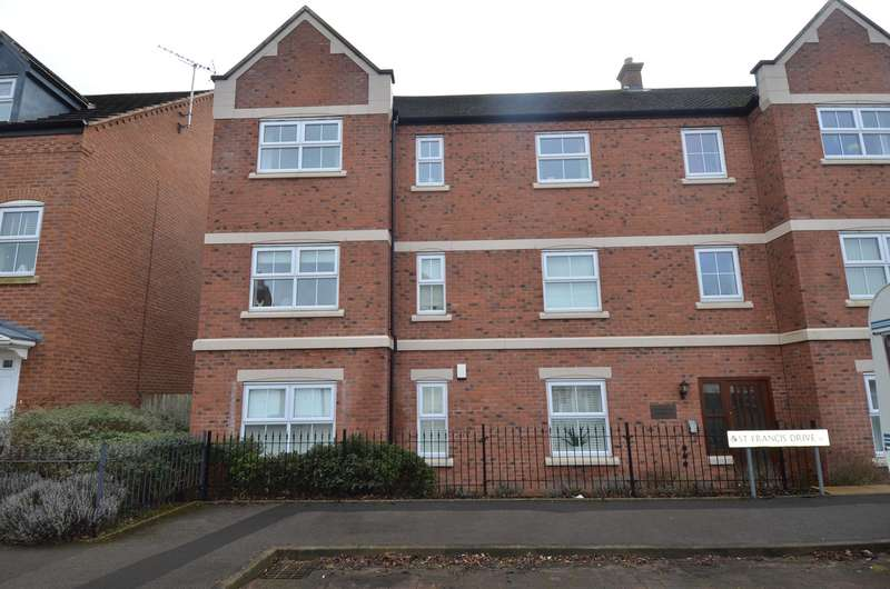 2 Bedrooms Apartment Flat for sale in St Francis Drive, Kings Norton , Birmingham, B30