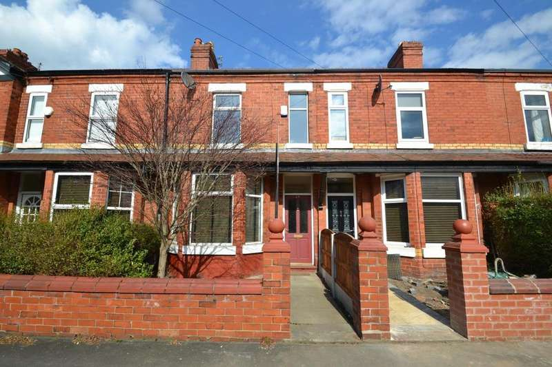 3 Bedrooms Terraced House for sale in Linley Road, Sale