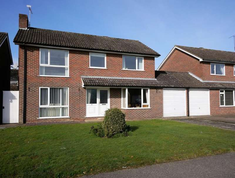 4 Bedrooms Detached House for sale in Boydlands, Capel St. Mary