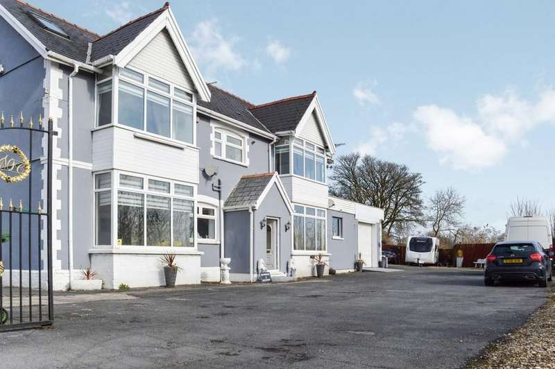 6 Bedrooms Detached House for sale in Cefn Llwynau House, Ystrad Mynach