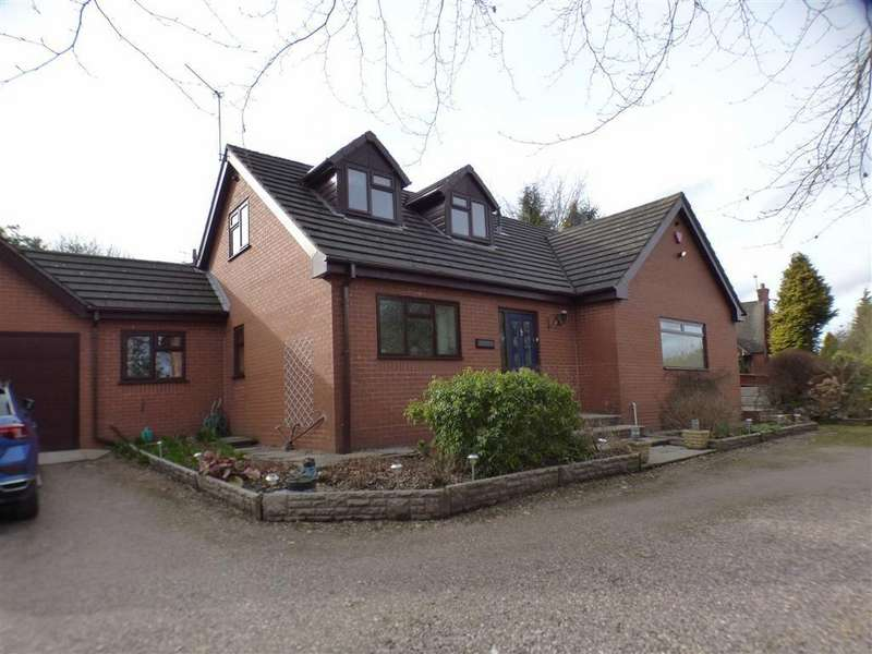 3 Bedrooms Detached Bungalow for sale in Trevone, Leek Road, Cheadle