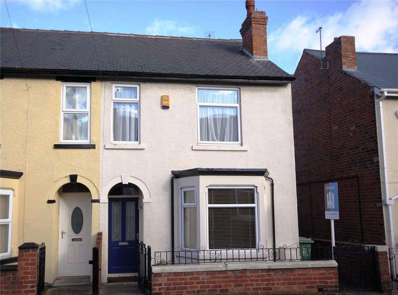 3 Bedrooms Semi Detached House for rent in Allcroft Street, Mansfield Woodhouse, Nottinghamshire, NG19