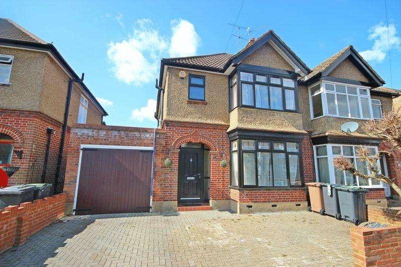 3 Bedrooms Semi Detached House for sale in New Bedford Road, St. Michaels Crescent, Luton