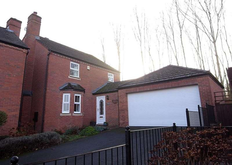 4 Bedrooms Detached House for sale in Farjeon Close, Ledbury