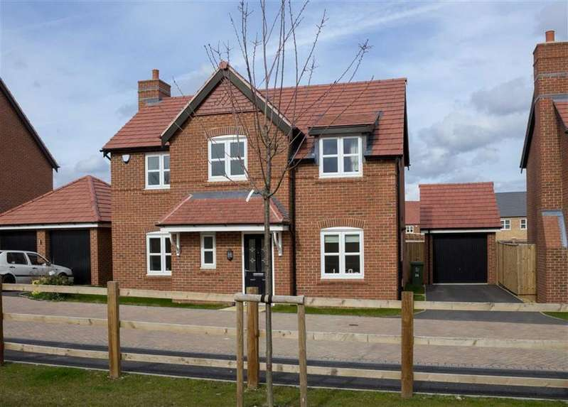 4 Bedrooms Detached House for sale in Tulip Crescent, Loughborough, LE11