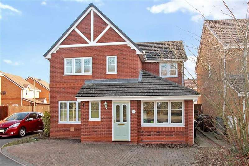 4 Bedrooms Detached House for sale in Ascot Road, Oswestry