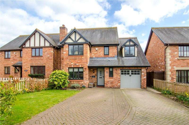 4 Bedrooms Detached House for sale in Hamilton Close, Powick, Worcester, Worcestershire, WR2