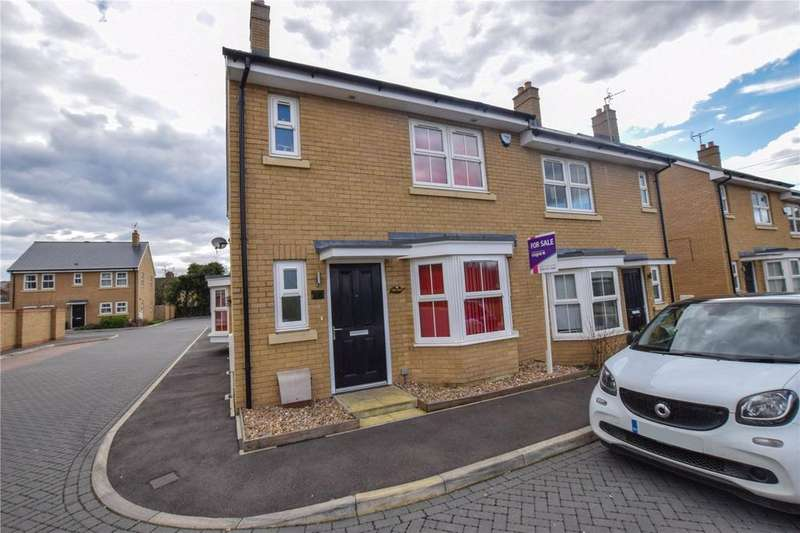 4 Bedrooms Semi Detached House for sale in Flora Road, Bushey, Hertfordshire, WD23