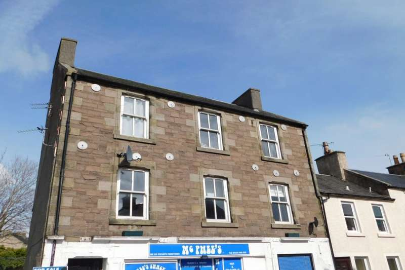 3 Bedrooms Flat for sale in Wellgatehead, Lanark, ML11