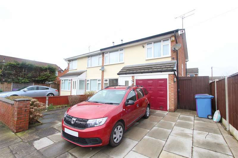 3 Bedrooms Semi Detached House for sale in Grange Avenue North, West Derby, Liverpool