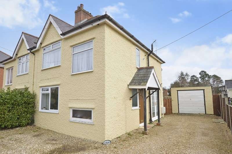 3 Bedrooms Semi Detached House for sale in Ashurst Road, West Moors, Ferndown