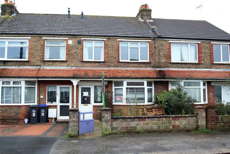 3 Bedrooms Terraced House for sale in Bruce Avenue, Worthing, West Sussex, BN11
