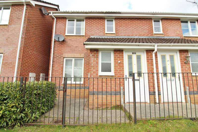 3 Bedrooms Semi Detached House for sale in Bishpool View, Newport, NP19