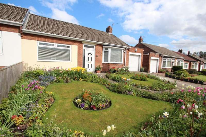 2 Bedrooms Semi Detached Bungalow for sale in Lambton Court, High Rickleton