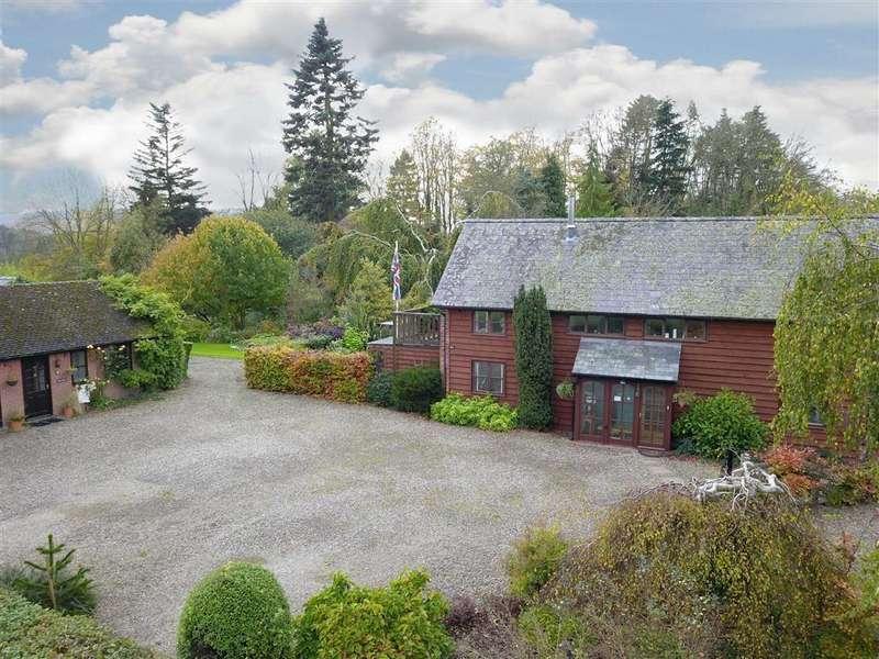 3 Bedrooms Detached House for sale in KINSHAM, Presteigne, Powys