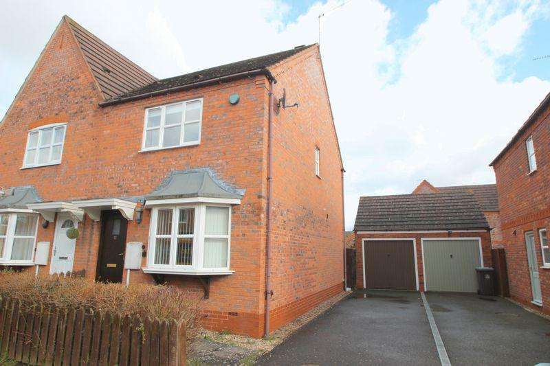 3 Bedrooms Semi Detached House for sale in Sandown Close, Stratford-Upon-Avon