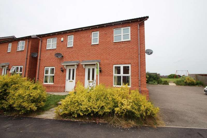 3 Bedrooms Semi Detached House for sale in Highfield, Tow Law