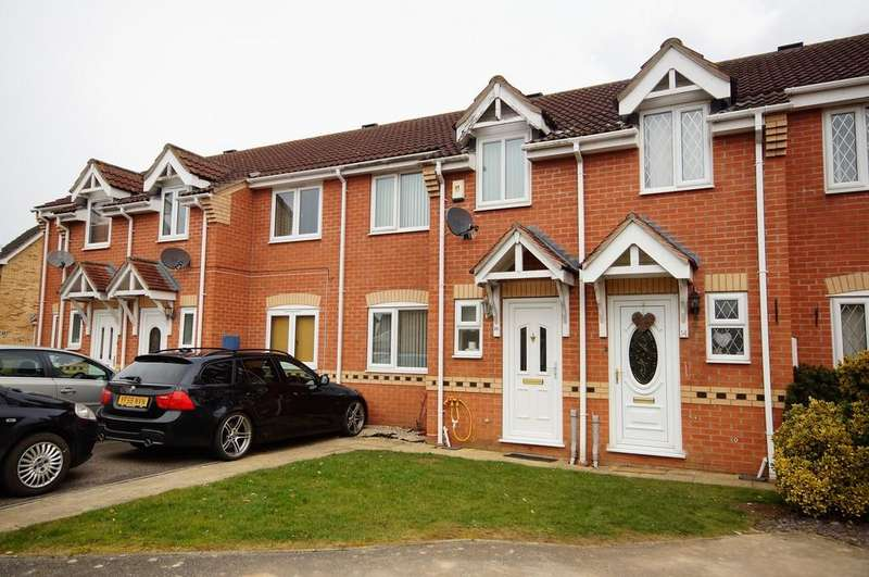 3 Bedrooms Terraced House for sale in Chestnut Close, Metheringham, Lincoln