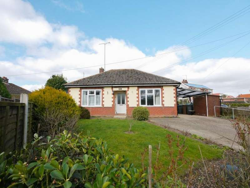 2 Bedrooms Detached Bungalow for sale in Station Road, Framlingham, Suffolk