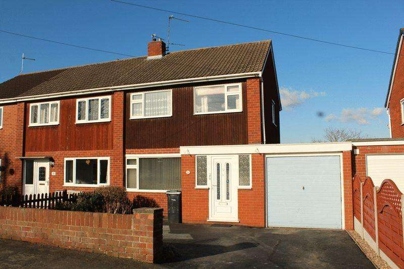3 Bedrooms Semi Detached House for sale in Lansdowne Road, Bayston Hill, Shrewsbury, SY3 0HZ