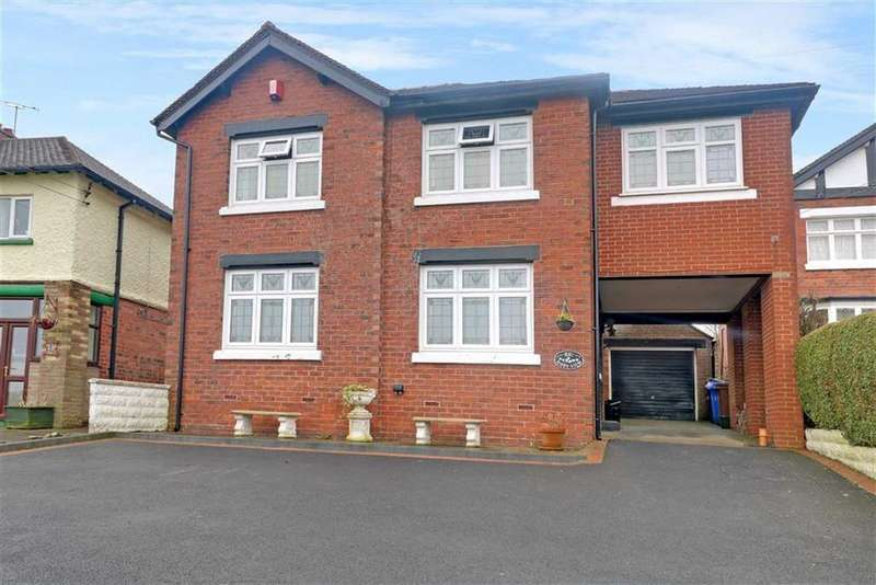 5 Bedrooms Detached House for sale in Star And Garter Road, Lightwood, Stoke-on-Trent