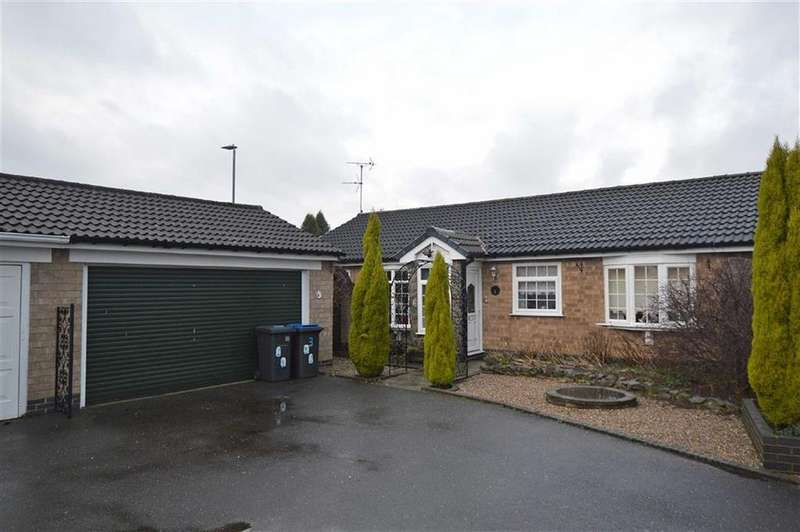 3 Bedrooms Detached Bungalow for sale in The Hawthorns, Markfield