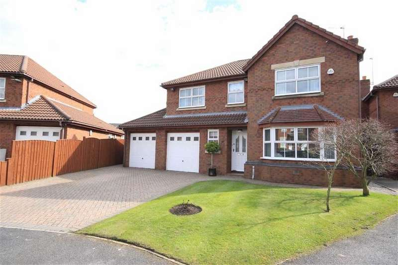 4 Bedrooms Detached House for sale in Sandstone Close, Rainhil, Merseyside, L35