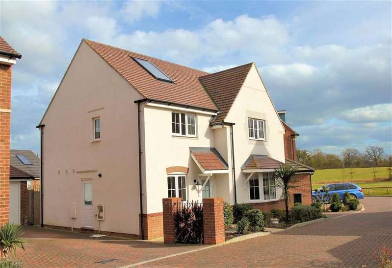 4 Bedrooms Detached House for sale in Gatekeepers Way, Watton at Stone SG14 3QB