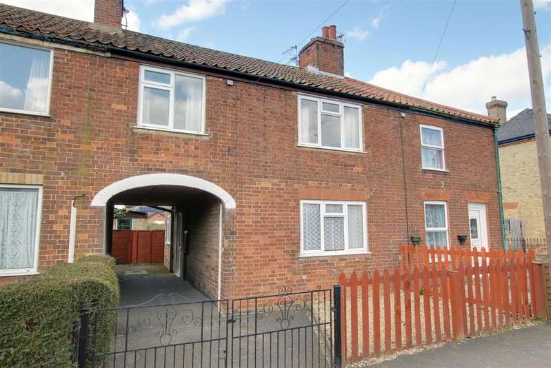 3 Bedrooms End Of Terrace House for sale in East Street, Alford
