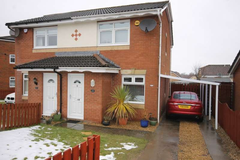 2 Bedrooms Semi Detached House for sale in 25 25 McMahon Drive, Newmains, ML2