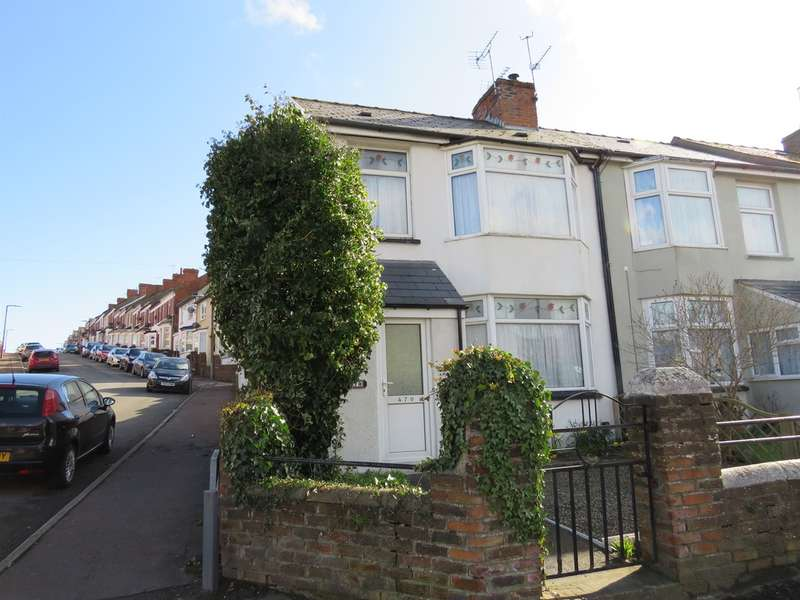 2 Bedrooms End Of Terrace House for sale in Gladstone Road, Barry