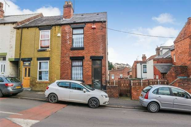 3 Bedrooms End Of Terrace House for sale in Wheldrake Road, Sheffield, South Yorkshire
