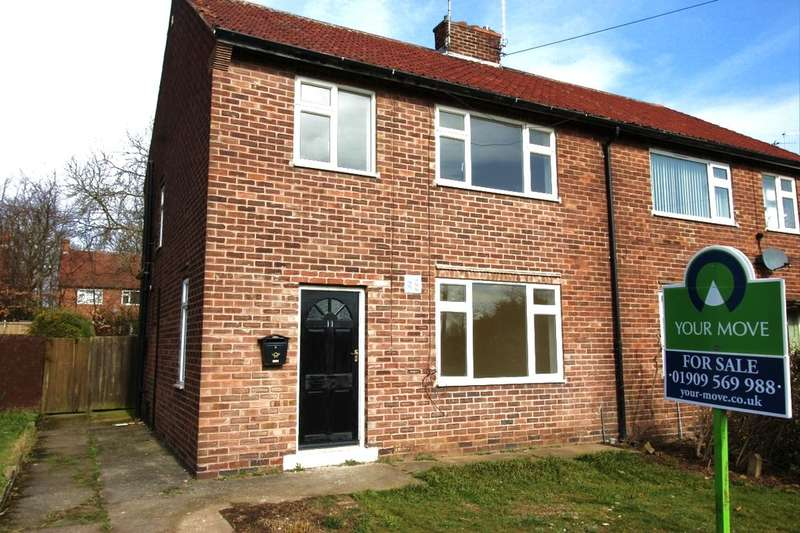3 Bedrooms Semi Detached House for sale in Park Avenue, Dinnington, Sheffield, S25
